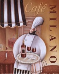 Cafe Milano | Obraz na stenu