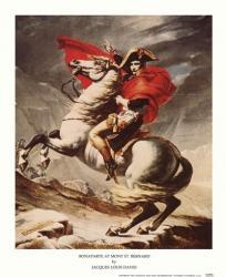 Bonaparte at Mont St. Bernard | Obraz na stenu