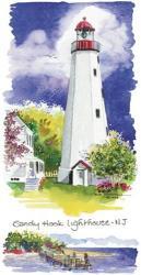 Sandy Hook Lighthouse | Obraz na stenu