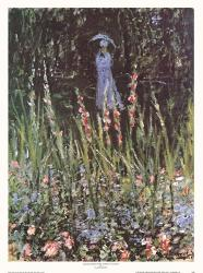 Madame Monet in Her Garden at Giverny