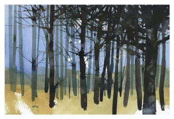 Tangle Knot Wood | Obraz na stenu