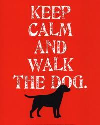 Keep Calm (Labrador) | Obraz na stenu