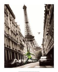 Big Jump in Paris   Obraz na stenu