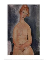 Seated Nude, ca. 1918 | Obraz na stenu