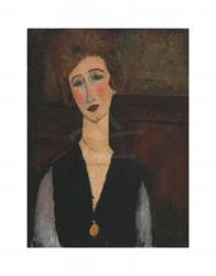 Portrait of a Woman, c.19171918 | Obraz na stenu