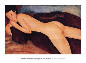 Reclining Nude from the Back, c.1917 | Obraz na stenu