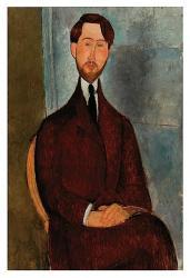 Portrait of Leopold Zborowski | Obraz na stenu