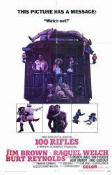 100 Rifles | Obraz na stenu