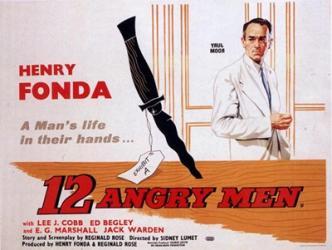 12 Angry Men | Obraz na stenu