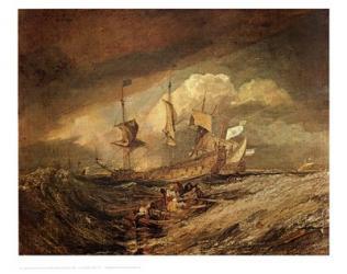 Boats with Anchors | Obraz na stenu