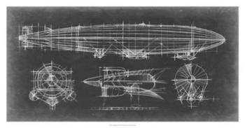 Airship Blueprint | Obraz na stenu