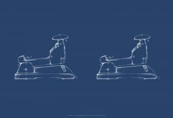 2 Up - Office Supply Blueprint II | Obraz na stenu