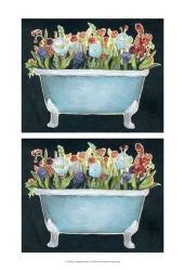 2-Up Bathtub Garden I | Obraz na stenu