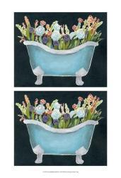 2-Up Bathtub Garden II   Obraz na stenu