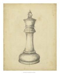 Antique Chess I | Obraz na stenu