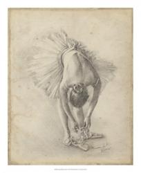 Antique Ballerina Study I | Obraz na stenu