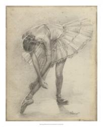 Antique Ballerina Study II | Obraz na stenu