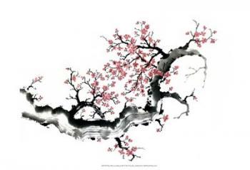 Plum Blossom Branch III   Obraz na stenu