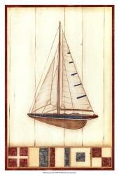 Americana Yacht I | Obraz na stenu