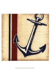 Americana Captain's Anchor | Obraz na stenu