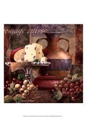 Cheese & Grapes II | Obraz na stenu