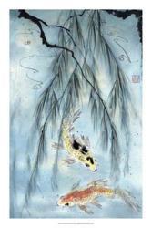 Golden Koi | Obraz na stenu