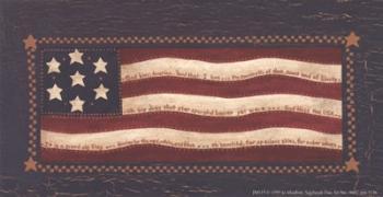 American Flag | Obraz na stenu