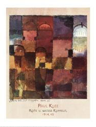 Rote U Weisse Kuppeln, 1914 | Obraz na stenu