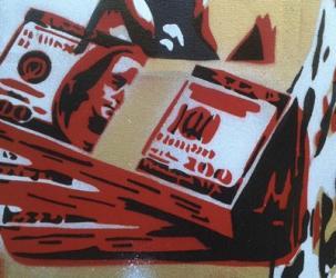 100 Dollars | Obraz na stenu