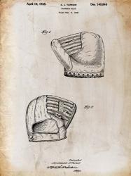 B Glove White Patent   Obraz na stenu