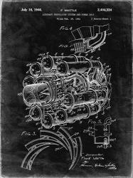 Aircraft Propulsion & Power Unit Patent - Black Grunge | Obraz na stenu