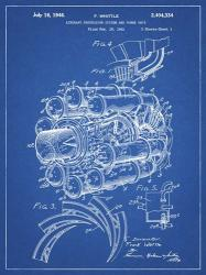 Aircraft Propulsion & Power Unit Patent - Blueprint | Obraz na stenu