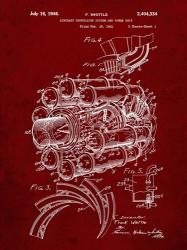 Aircraft Propulsion & Power Unit Patent - Burgundy | Obraz na stenu