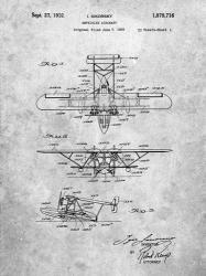 Amphibian Aircraft Patent - Slate   Obraz na stenu