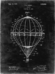Balloon Patent - Black Grunge | Obraz na stenu