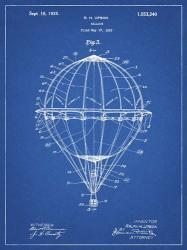 Balloon Patent - Blueprint | Obraz na stenu