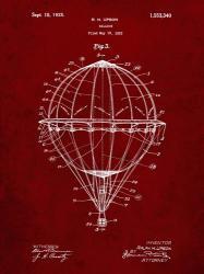 Balloon Patent - Burgundy   Obraz na stenu