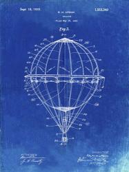 Balloon Patent - Faded Blueprint | Obraz na stenu