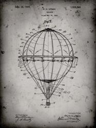 Balloon Patent - Faded Grey | Obraz na stenu