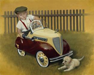 1937 Steelcraft Dodge | Obraz na stenu