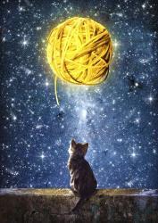 A Yarn of Moon | Obraz na stenu