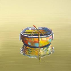 1 Boat Yellow | Obraz na stenu