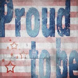 American Born Free Sign Collection 3 | Obraz na stenu