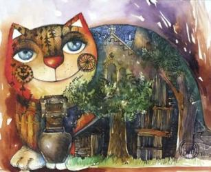 Alpes Cat | Obraz na stenu