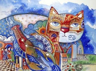 Cancer Cat | Obraz na stenu