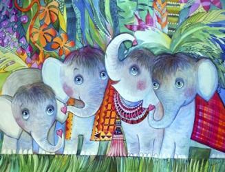 Baby Elephant | Obraz na stenu