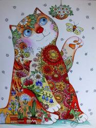 Bucolic Cat | Obraz na stenu