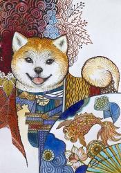 Akita Inu | Obraz na stenu
