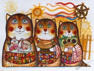 3 Cats | Obraz na stenu