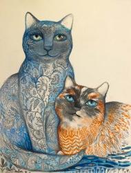 2 Cats | Obraz na stenu